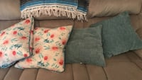 four throw pillows 469 mi