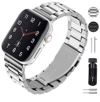 Apple Watch 44mm Stainless Steel Watch Band Vancouver, V6B