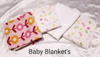 4 Baby Blanket's, Make Offer!! Omaha, 68111