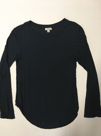 Wilfred Longsleeve Top Shirt Size Small Dark Green Womens Clothing Aritzia TNA Edmonton, T6J