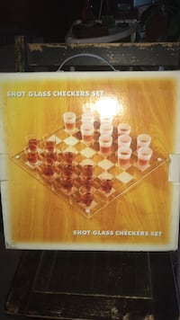 Shot Glass Checkers    Set Saylorsburg, 18353