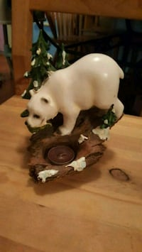 Polarbear Tealight Candle Holder