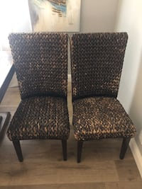 Rattan chairs(2)by Coaster Fine Furniture