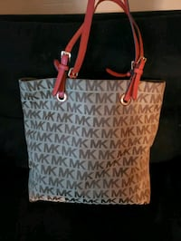 women's white and red Michael Kors tote bag Azle, 76020