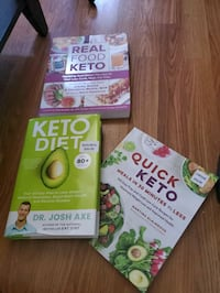 Keto recipe books.