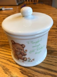 Little Blessings Porcelain Jar for Baby Perryville, 21903