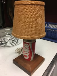 Lamp made from vintage Coca Cola can Manassas, 20110
