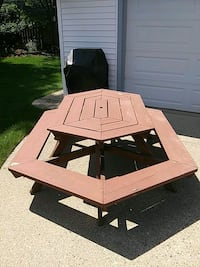 Used picnic table 30 dollars it's solid