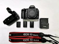 Canon 5D MkII + battery grip + Extras $550 Toronto, M5J 1S3
