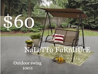 Brand new porch swing (assembly required ) Dallas, 75228