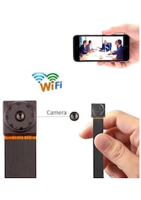New wifi hidden video audio recorder with accessories  Toronto, M9L 2H8