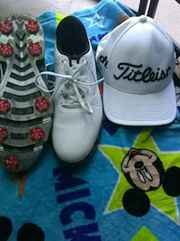 Golf shoes and cap Oakland, 94612
