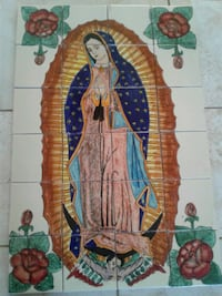 Our Lady of Guadalupe-printed tiles Las Cruces, 88012