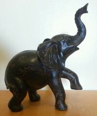 Ceramic Saluting Elephant