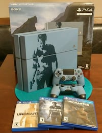 Limited Edition Uncharted PS4 Playstation Console  San Antonio, 78247