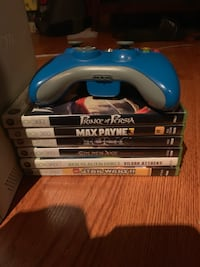 Xbox 360 for sale with games  Pickering, L1W 1Y2