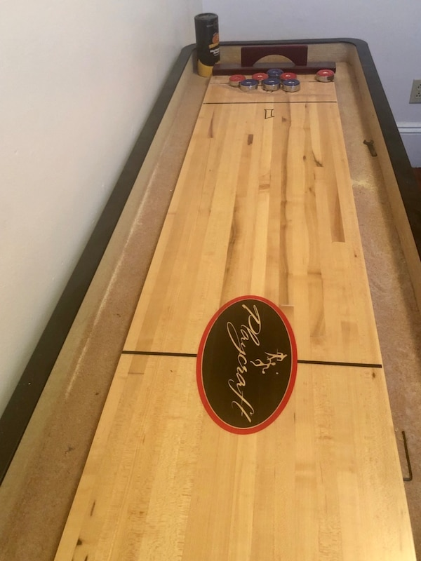 9ft Playcraft Shuffleboard table