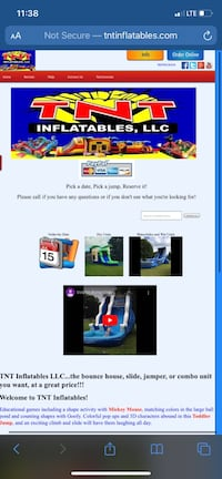 Bounce house and inflatables rental Hammond