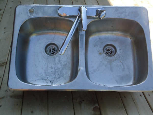 Used Stainless Steel Double Kitchen Sink For Sale In Null Letgo