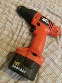 black and red Black&Decker cordless hand drill Allentown, 18102
