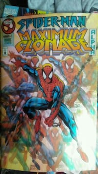 Spider man maximum clonage alpha#1 Fresno, 93706