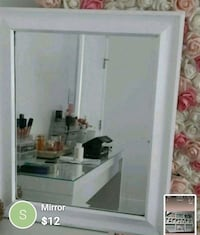 white wooden framed glass display cabinet 3748 km