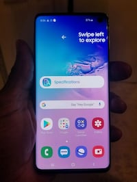 New Samsung s10 for parts only