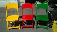 Vintage folding chairs Vancouver, V5M
