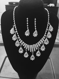 silver-colored necklace and earrings Orlando, 32819