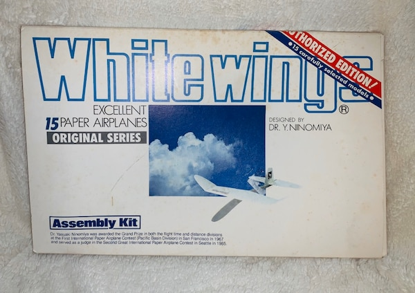 WhiteWings Paper Airplanes Designed by Dr. Y. Ninomiya 3