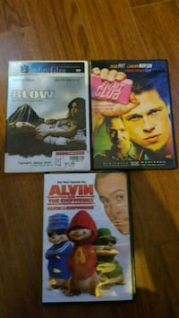 DVD $4 each Brantford, N3S 4W3