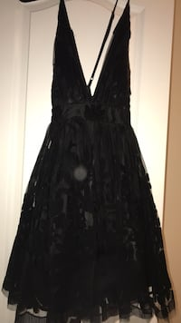 Black Harley Quinn dress worn once  Brampton, L7A 4N9