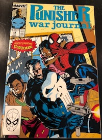 Marvel Comic - The Punisher War Journal Vol.1 No.14, Jan 1990. Mint condition