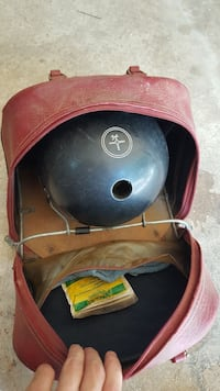 Vintage Blue Hammer Bowling Ball with Bag Snellville, 30078