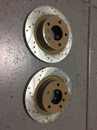 Brake rotors drilled and sloted Las Vegas, 89149