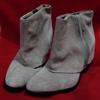 REDUCED! - RACHEL Rachel Roy Ramone taupe suede ankle boots – 9M (NEW) Rockville
