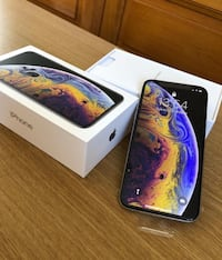 silver iPhone Xs with box Washington