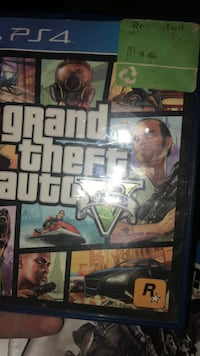 Grand Theft Auto Five Xbox 360 game case Abbotsford, V2S 1R1