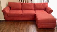 Macy's sectional couch (delivery free ) Montgomery Village, 20886