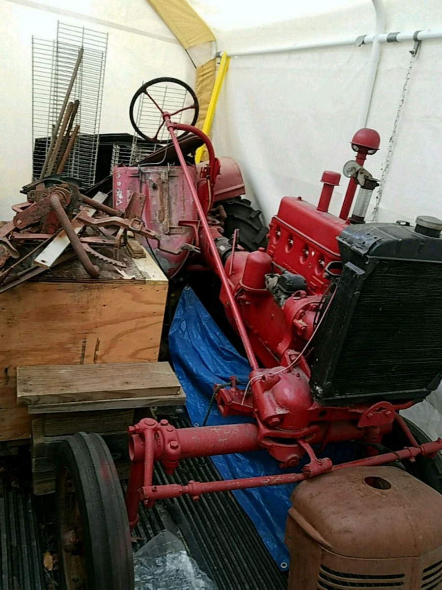 Photo 1947 Farmall A Tractor. Project