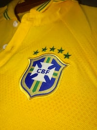 CBF BRAZIL POLO BRASIL TEE SHIRT IN SMALL SIZE FITS LIKE MEDIUM SLIM FIT Annandale, 22003