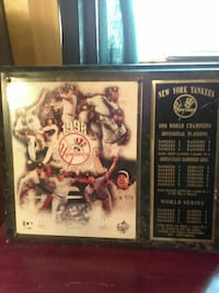 New York Yankees poster with frame East Stroudsburg, 18302