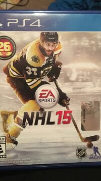 NHL 17 Sony PS4 game case