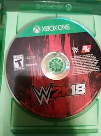WWE 2k18 in great condition and no scratches  Chicago, 60625