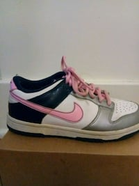 pair of gray-and-pink Nike running shoes Cincinnati, 45206