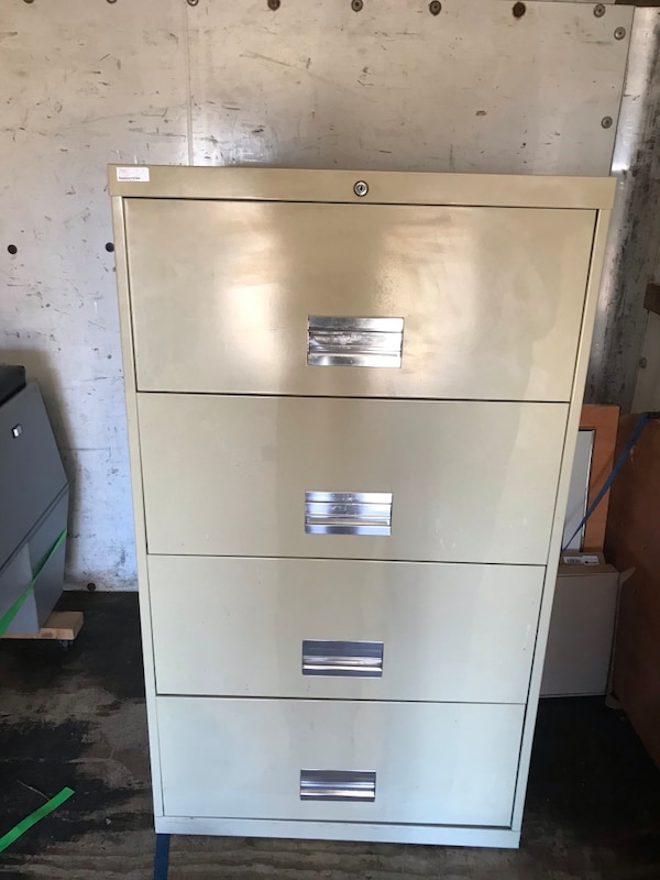 4 drawer fill cabinet