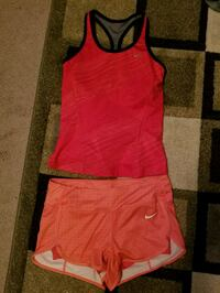 Nike dri fit top and shorts Langley, V2Y 1P9