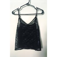 Sheer lace cami from dynamite, size medium