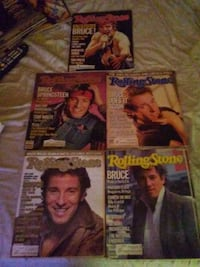 Bruce Springsteen Rolling Stone lot of 5 Williston Park, 11596