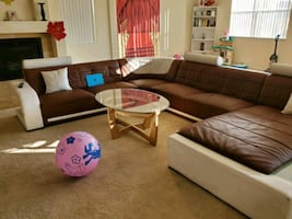 Light up sectional